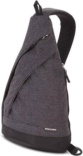 SwissGear Monosling Travel Bag, Grey Heather, One Size
