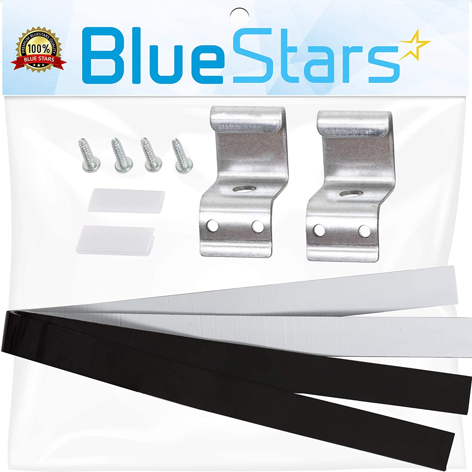 Ultra Durable 8541503 Duet and Epic Stack Kit Replacement by Blue Stars – Exact Fit For Whirlpool & Kenmore Dryers/Washers - Replaces 8212640 AP3183011