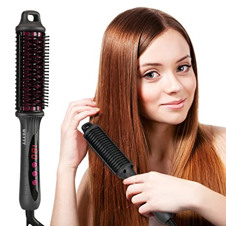 Plancha de pelo cepillo, weyty cerámica calefacción glättb redondo