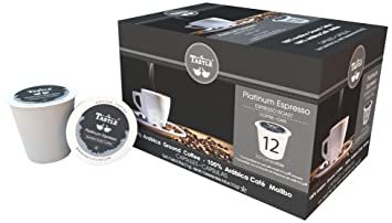 Cafe Tastlé Platinum Espresso Roast Single Serve Coffee, 12 Count
