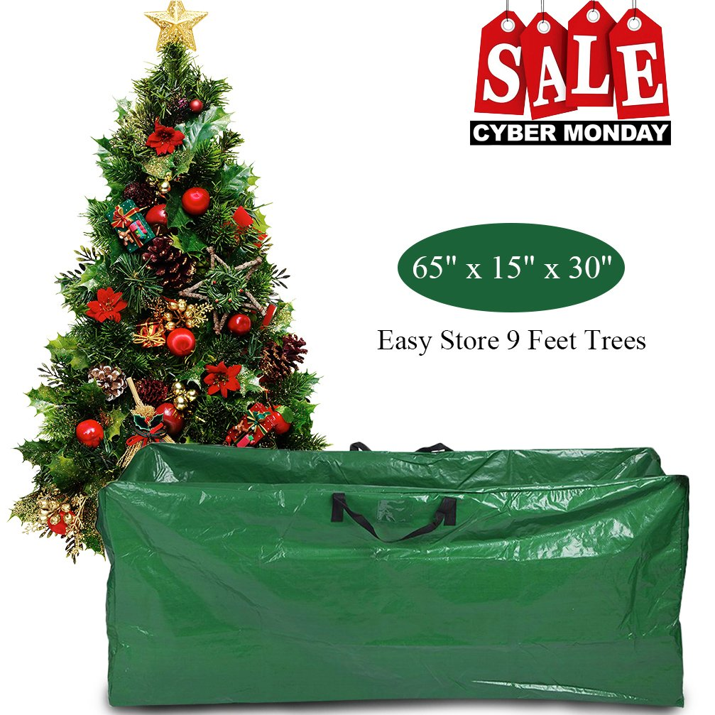 Christmas Tree Storage Bag Extra Large Zippered Artificial Christmas