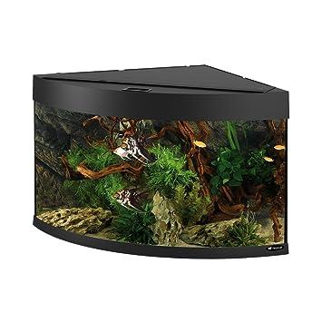 Ferplast 65031017 Esquina Acuario Dubai 90, tamaño: 66 x 93 x 57 cm, 180 L, Color Negro: Amazon.es: Productos para mascotas