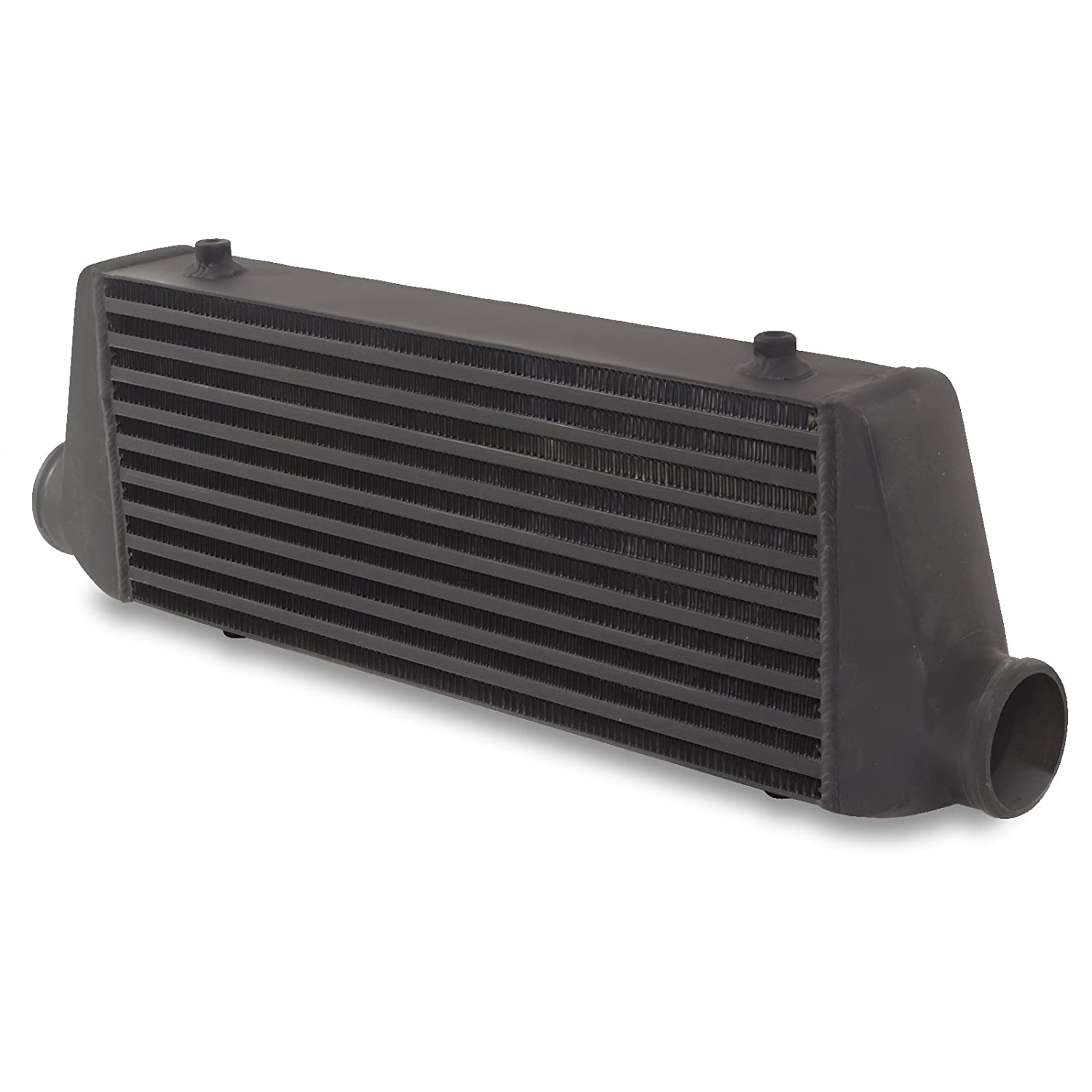 Black 65mm Aluminium Alloy Front Mount Intercooler FMIC Core Jap Parts