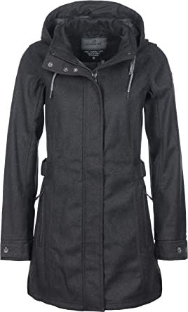 Woja Abzipbarer Soft Jacke Mit Casual Wolloptik Shell Damen Fashion Killtec Kapuze In ZiTPuOkX