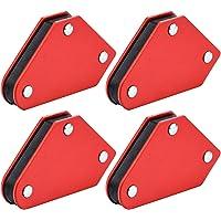 4 stuks Mini lasmagneten Set 4,1 kg magnetische lasser houder vierkant- 3 hoeken 45 ° 90 ° 135 °