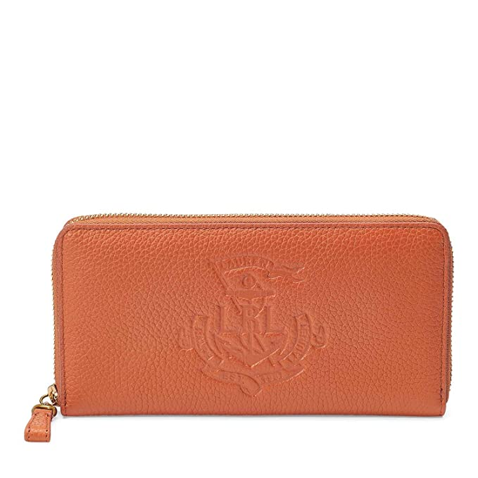 Ralph Lauren Huntley, Cartera para Mujer. U Marron: Amazon.es: Ropa y accesorios