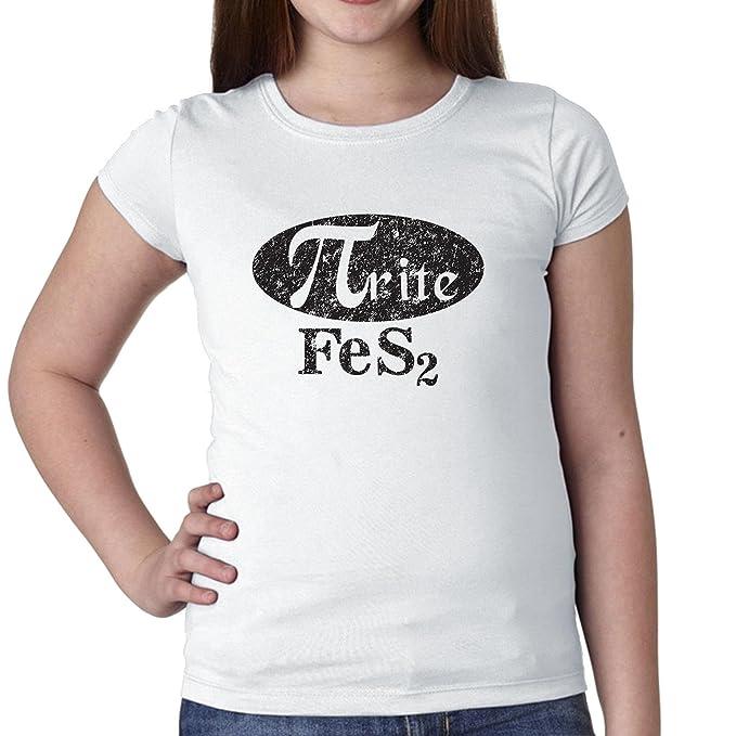 Trendy Pirita fes2 química gráfico para niña de algodón juventud camiseta: Amazon.es: Ropa y accesorios