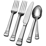 International Silver Kensington Stainless Steel Flatware, 53-Piece Set, Service for 8 (5092778) (DISCONTINUED BY MANUFACTURER)