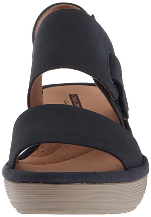 5e7f2d958e4a Amazon.com  CLARKS Women s Reedly Breen Wedge Sandal  Clarks  Shoes