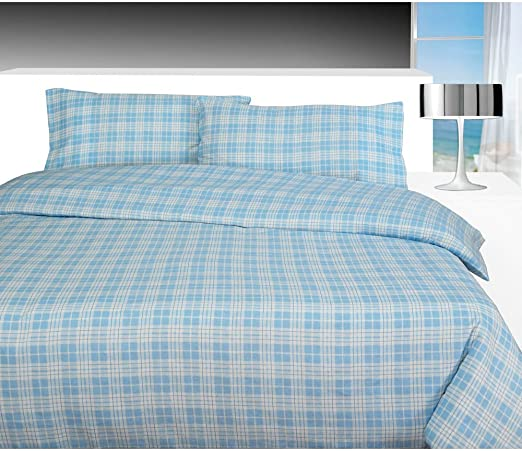 THERMAL 100/% BRUSHED COTTON FLANNELETTE QUILT DUVET COVER BED SET COSY WARM SOFT