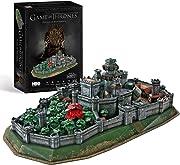 Passa il tempo riscoprendo le emozioni del mondo di Game Of Thrones, con questo dettagliato puzzle 3D!