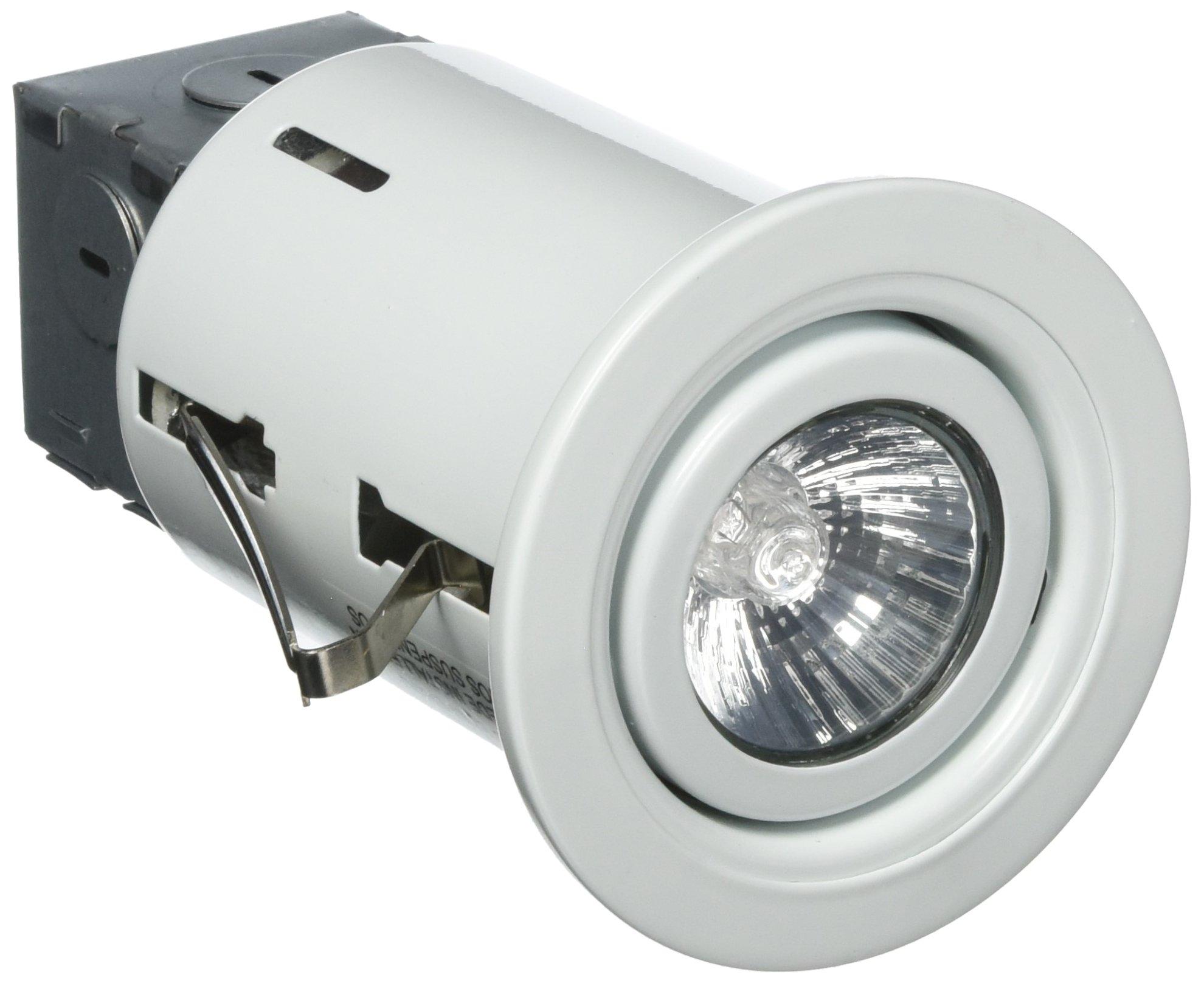 Powerzone RS6000R+TRIM603-W Recessed Light Kit, 50 W