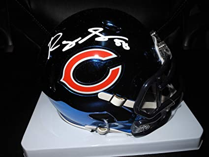 online store 75c85 caa00 Amazon.com: Roquan Smith Ip Autographed Signed Chicago Bears ...