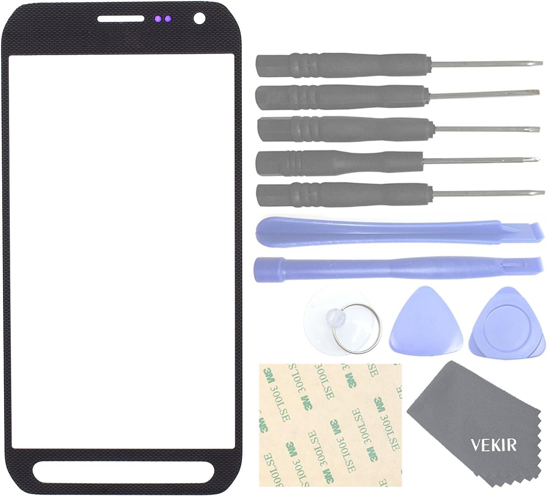 Vidrio pantalla para Samsung Galaxy S6 Active (gris)