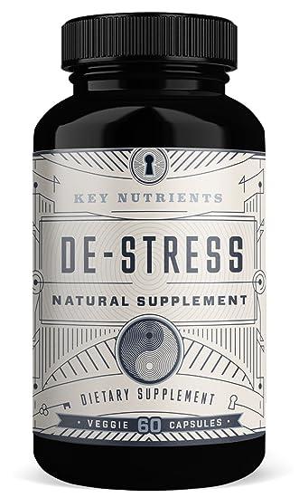 Amazon.com: Clave Nutrientes Alivio del estrés Suplemento ...