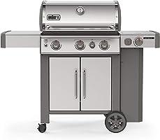 Weber 61006001 Genesis II S-335 LP Grill, Stainless Steel