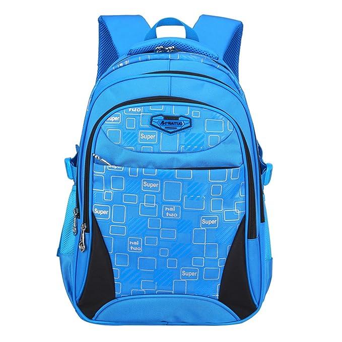 Mochilas escolares juveniles azules de modahttps://amzn.to/2Ir19QS