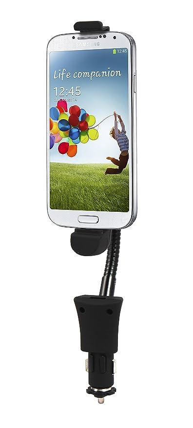 Luxburg® auto coche dock soporte cargador ajustar para Samsung Galaxy S5 / S4 / Samsung Galaxy Note 3/2 con Micro USB Dock