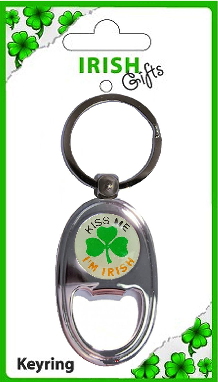 スペシャルオファ Kiss Me Bottle I'm Irish Trtaditional Oblong Oblong Me Bottle Opener Keyring Souvenir Gift B00831V6AG, 観音寺市:c2dca044 --- yelica.com