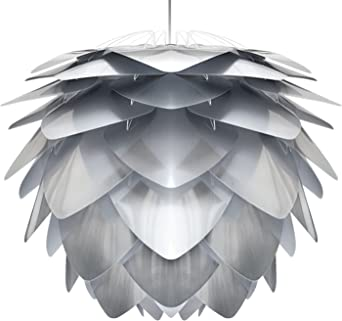 Kabel und Fassung weiss 75 x 75 x 45 cm Lampe Umage//VITA Eos XL H/ängeleuchte f/ür A+ bis E inkl
