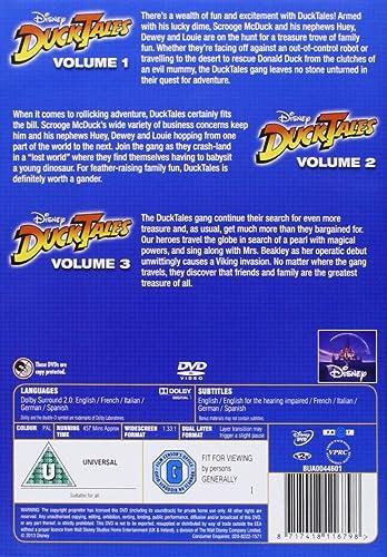 DuckTales: Series 1 [Reino Unido] [DVD]: Amazon.es: Ducktales: Cine y Series TV
