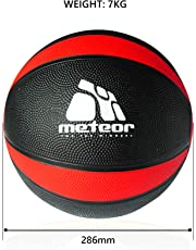 Meteor 1-9KG Commercial Rubber Medicine Exercise Balls Ball Workout Gym Fitness