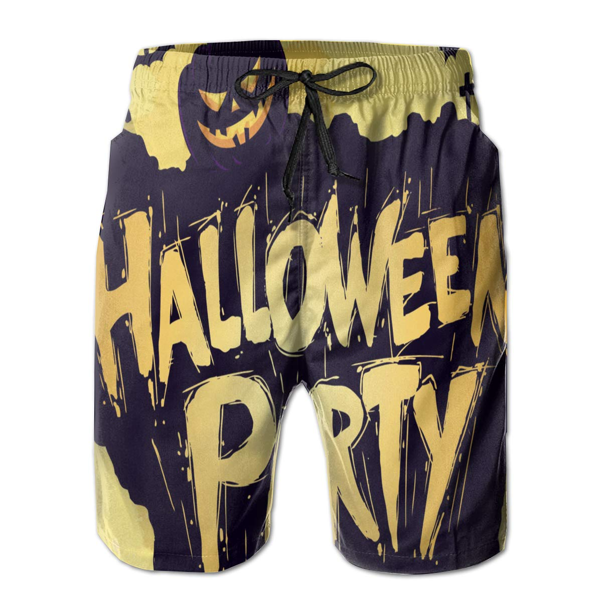 Halloween Party Mens Swim Trunks Quick Dry Bathing Suits Summer Casual Surfing Beach Shorts