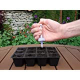 CrazyGadget® Gardening Super Seeder Tool - Sow Your Seeds Accurately - Set of 2