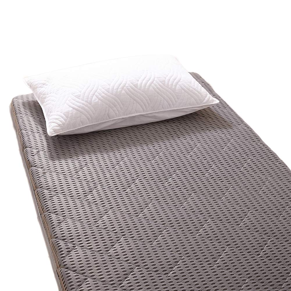 I 180x200cm H 6cm Thick Soft Memory Foam Mattress Rolled, Quilted Breathable Anti-mite Folding Mattress Ergonomic-G 180x200cm H 6cm