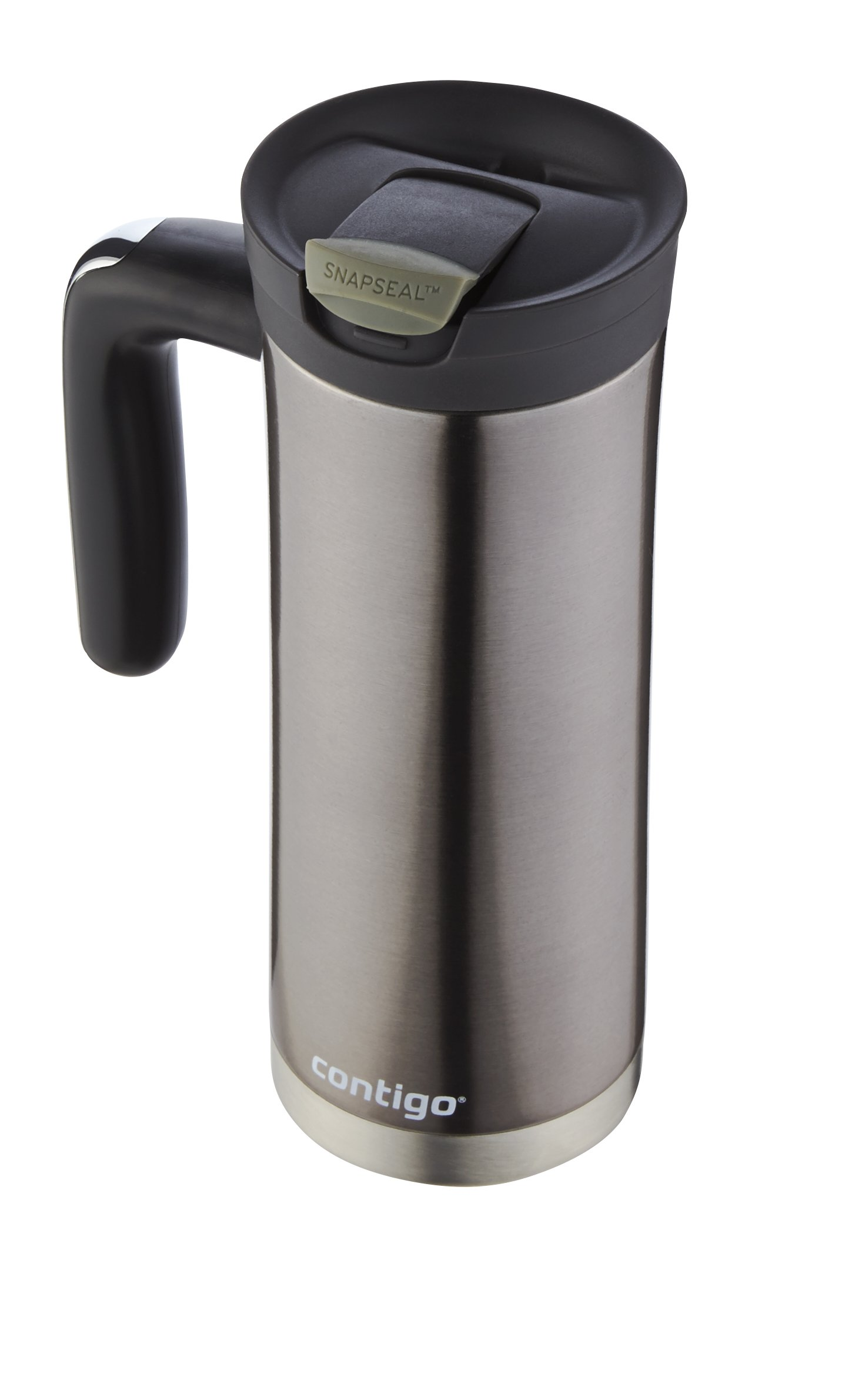 Contigo SnapSeal Superior Stainless Steel Travel Mug, 20 oz, Gunmetal by Contigo (Image #4)