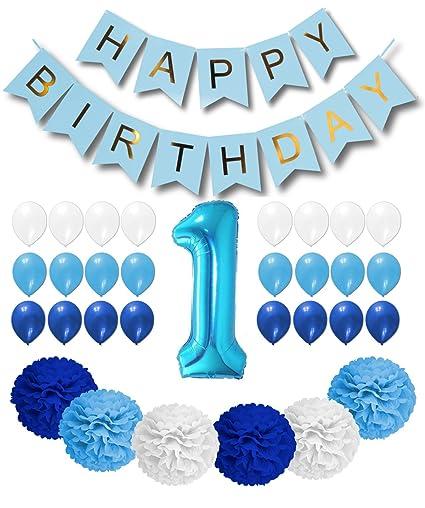 1st Birthday Boy Decorations