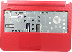 New OEM Dell Inspiron 14 3421 Red Laptop Palmrest Touchpad P3C2X