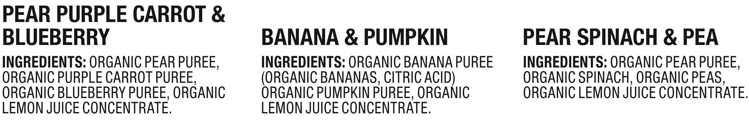 Plum Organics Stage 2, Organic Baby Food, Fruit and Veggie Variety Pack, 4 ounce pouch, Pack of 18 (Packaging May Vary) by Plum Organics (Image #3)