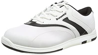Ladies Silk White/Black Wide Width bowling shoes