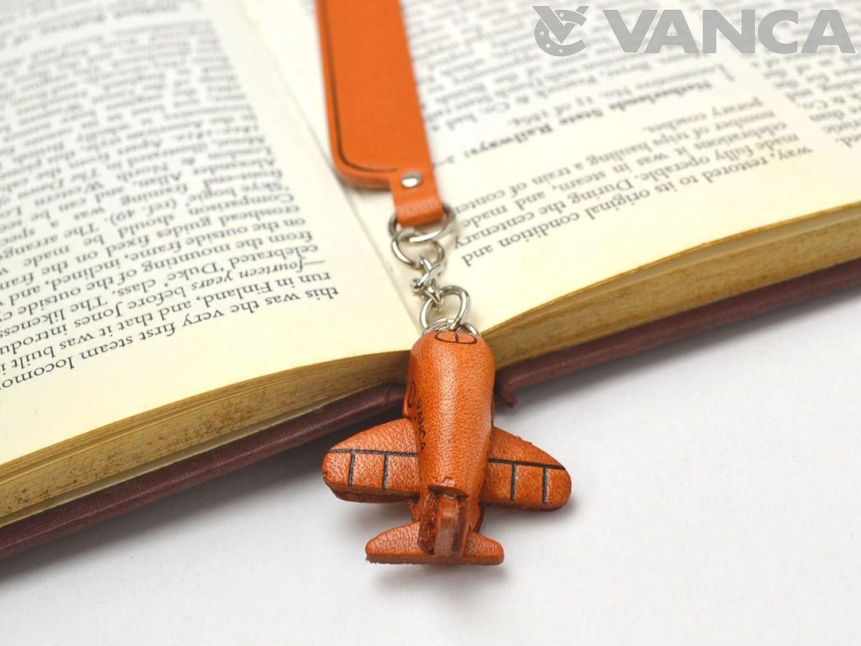 Aereo del fascino Bookmarker Vanca fatto a mano in Giappone VANCA CRAFT INC.