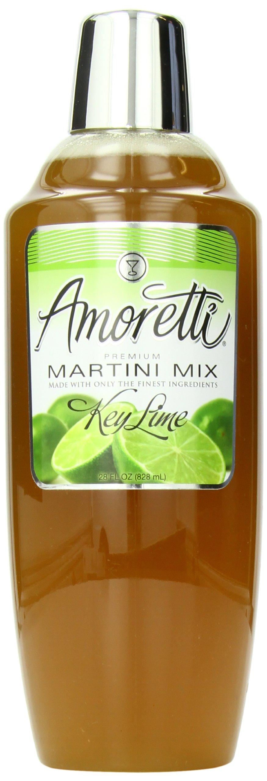 Amoretti Premium Martini Cocktail Mix, Key Lime, 28 Ounce by Amoretti