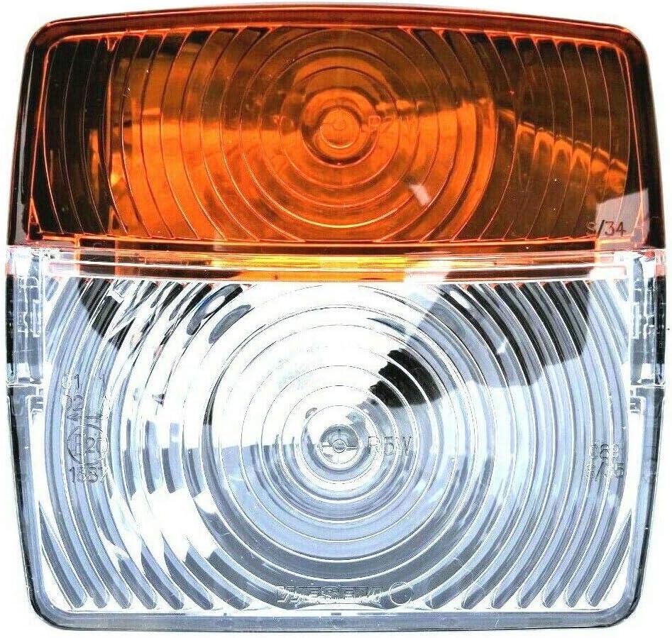 2x posición lámpara intermitente ip54 e20 señal lámpara tractor excavadoras remolcador