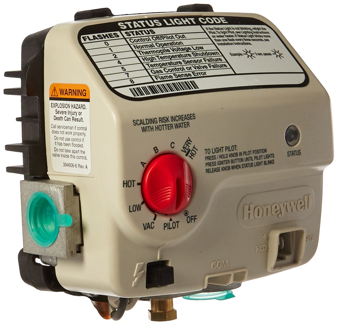 Reliance Water Heater Co 9007890 Honey Lp Gas Valve Programmable Wiring Diagram Household Thermostats