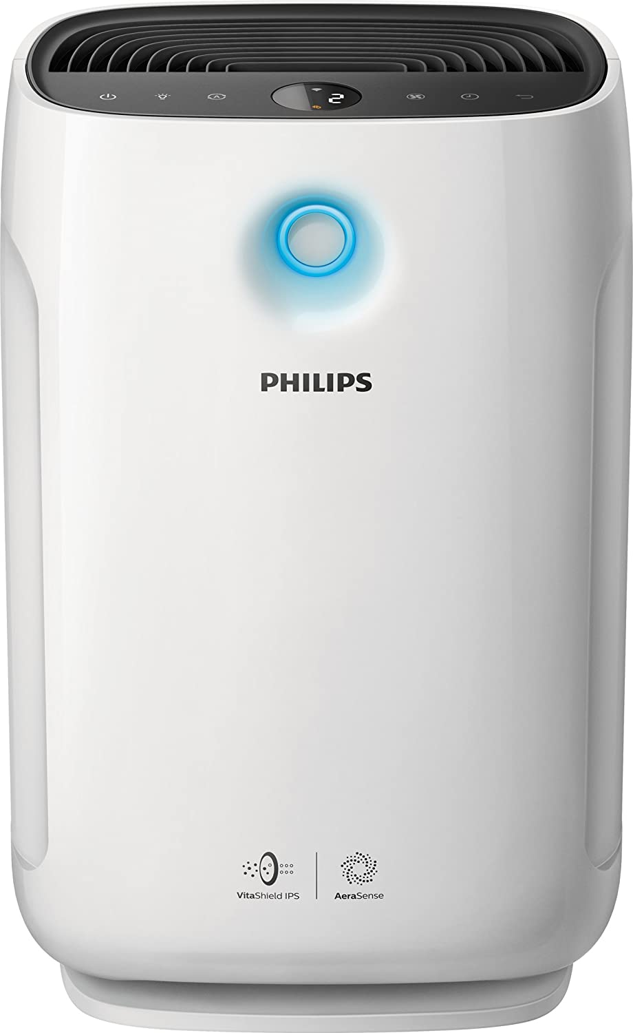 Philips Air Purifier 1000, True HEPA, Reduces Allergens, Pollen, Dust Mites, Mold, Pet Dander, Gases and Odors, for Bedrooms AC1213/40