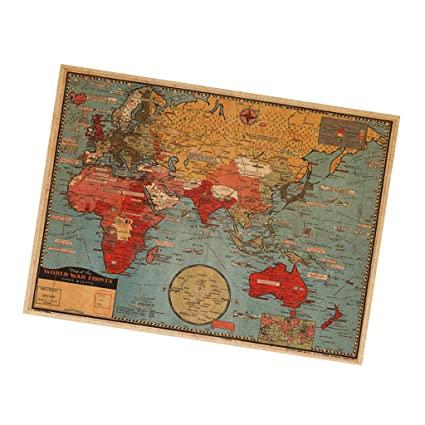 Buy segolike large world map wall sticker removable vinyl art mural segolike large world map wall sticker removable vinyl art mural home office decor publicscrutiny Gallery