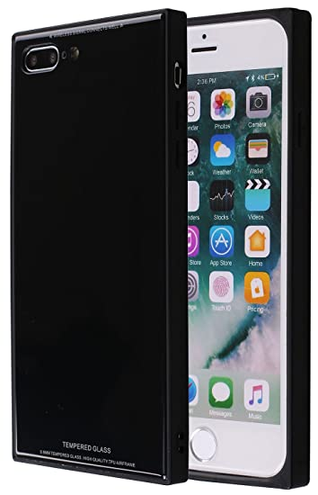 black protective iphone 8 plus case