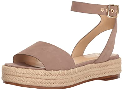 32616f37b91 Vince Camuto Women s Kathalia Espadrille Wedge Sandal Dusty Mink 5 Medium US