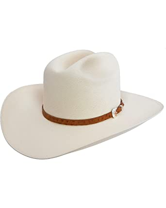 Stetson Men s El Noble 500X Straw Cowboy Hat - Sselnbm2840 at Amazon ... b3cd63e86f3