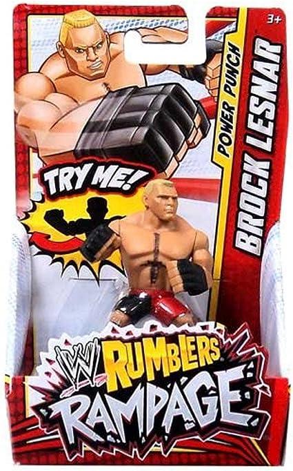 Amazon Com Wwe Wrestling Rumblers Rampage Mini Figure Brock