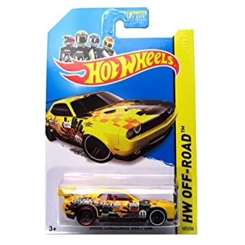 Amazon Com Hot Wheels Hw Off Road Dodge Challenger Drift