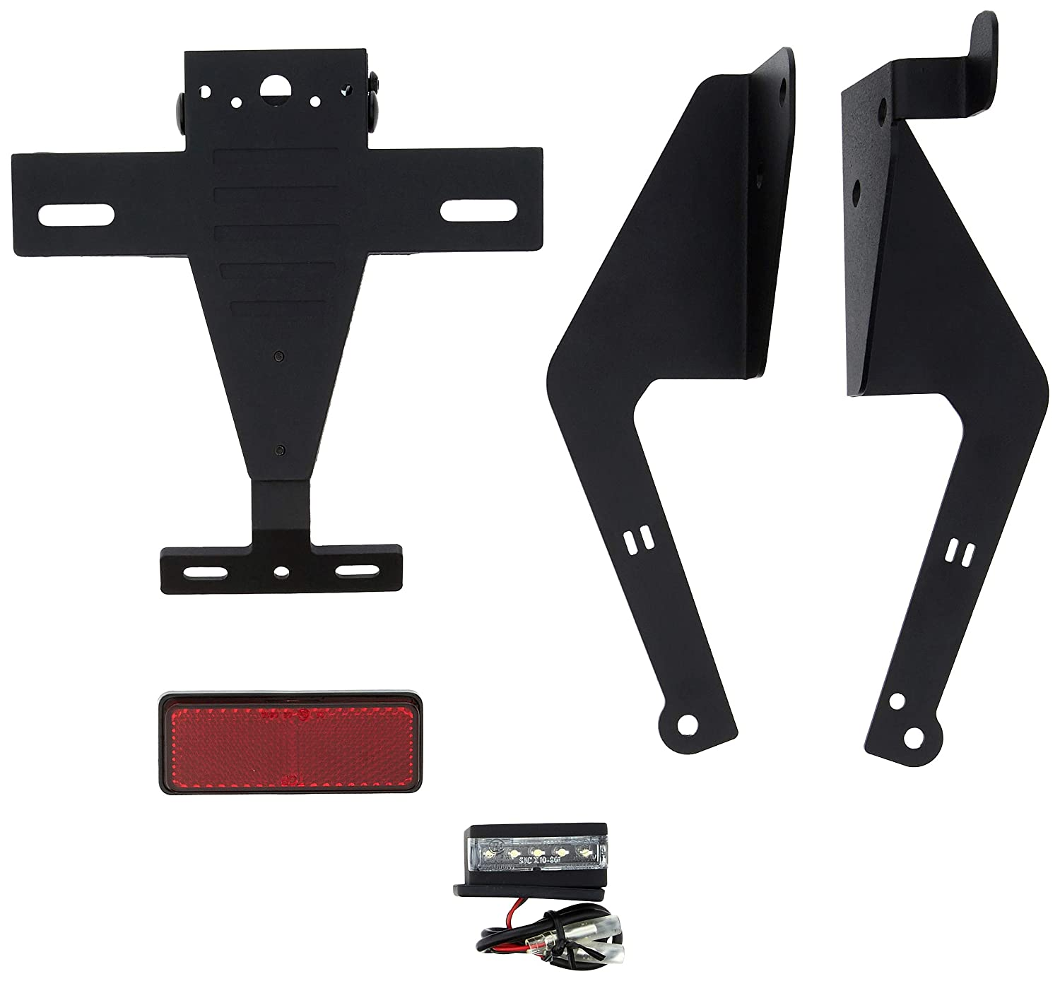 Amazon.com: Puig License Support 9534N Black for Kymco AK ...