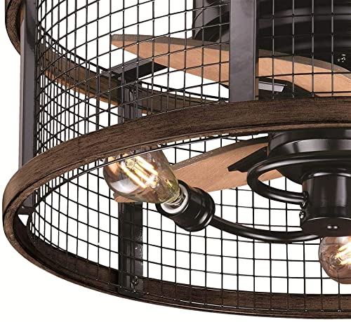 Humboldt Ceiling Fan in Oil Rubbed Bronze and Burnished Teak