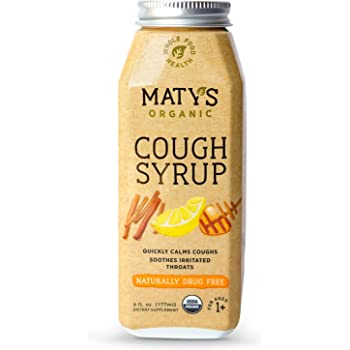 Amazon.com: Matys Organic Cough Syrup, 6 Fluid Ounce