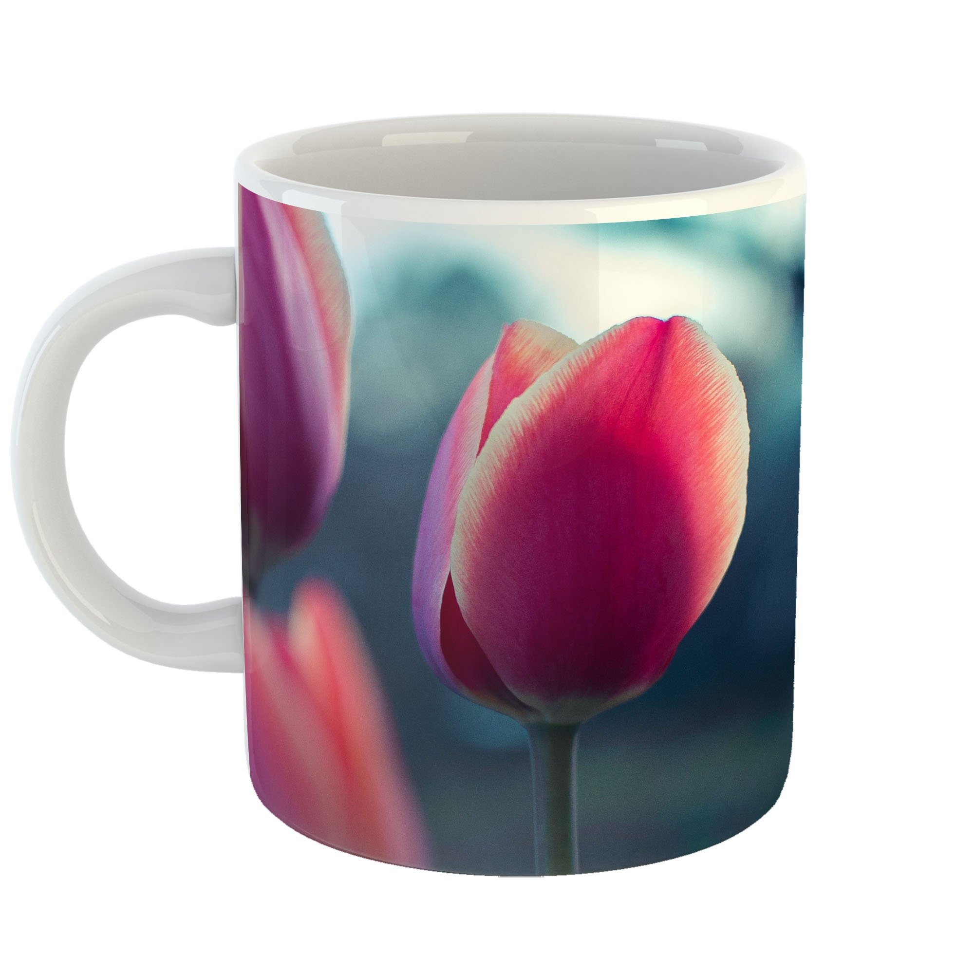 Westlake Art - Tulip Spa - 11oz Coffee Cup Mug - Modern Picture Photography Artwork Home Office Birthday Gift - 11 Ounce (FF99-F197E)