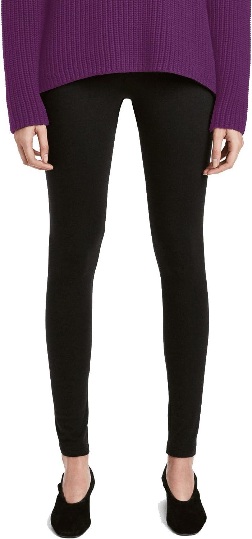 Legging Thermique Femme Chaud Noir 3059 Pantalon Molletonné